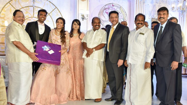 Dr.S.M.BALAJI DAUGHTER WEDDING RECEPTION STILLS
