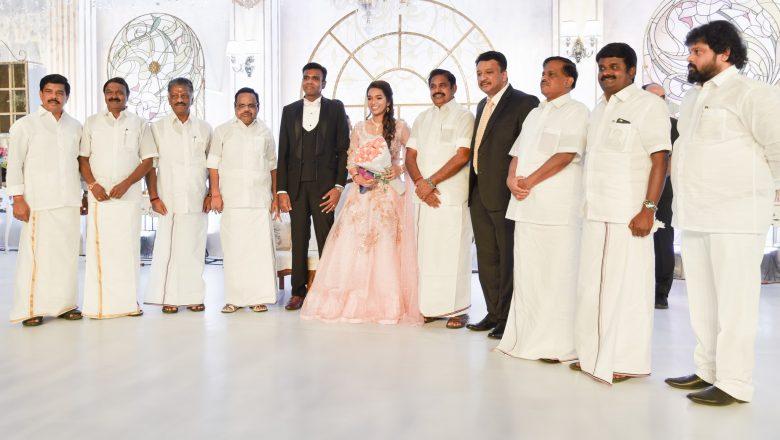 நடிகர் சிவக்குமார் கலந்துகொண்ட Dr.எஸ்.எம்.பாலாஜி அவர்களுடைய மகள் திருமண வரவேற்பு விழா படங்கள்