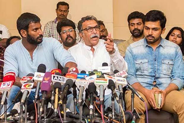 தென்னிந்தியா நடிகர் சங்க தேர்தல் நடைபெறுவதில் சிக்கல் ஏற்பட்டுள்ளது?