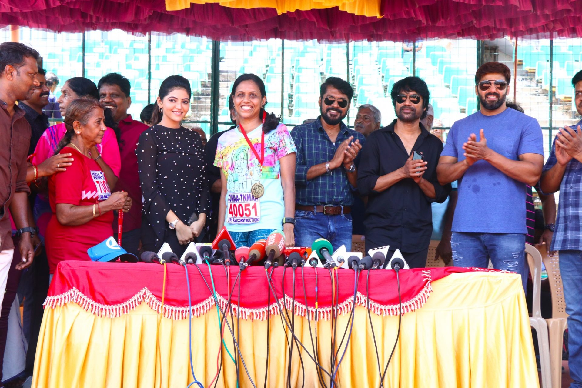 Chennai District Masters Athletic Meet Event Stills