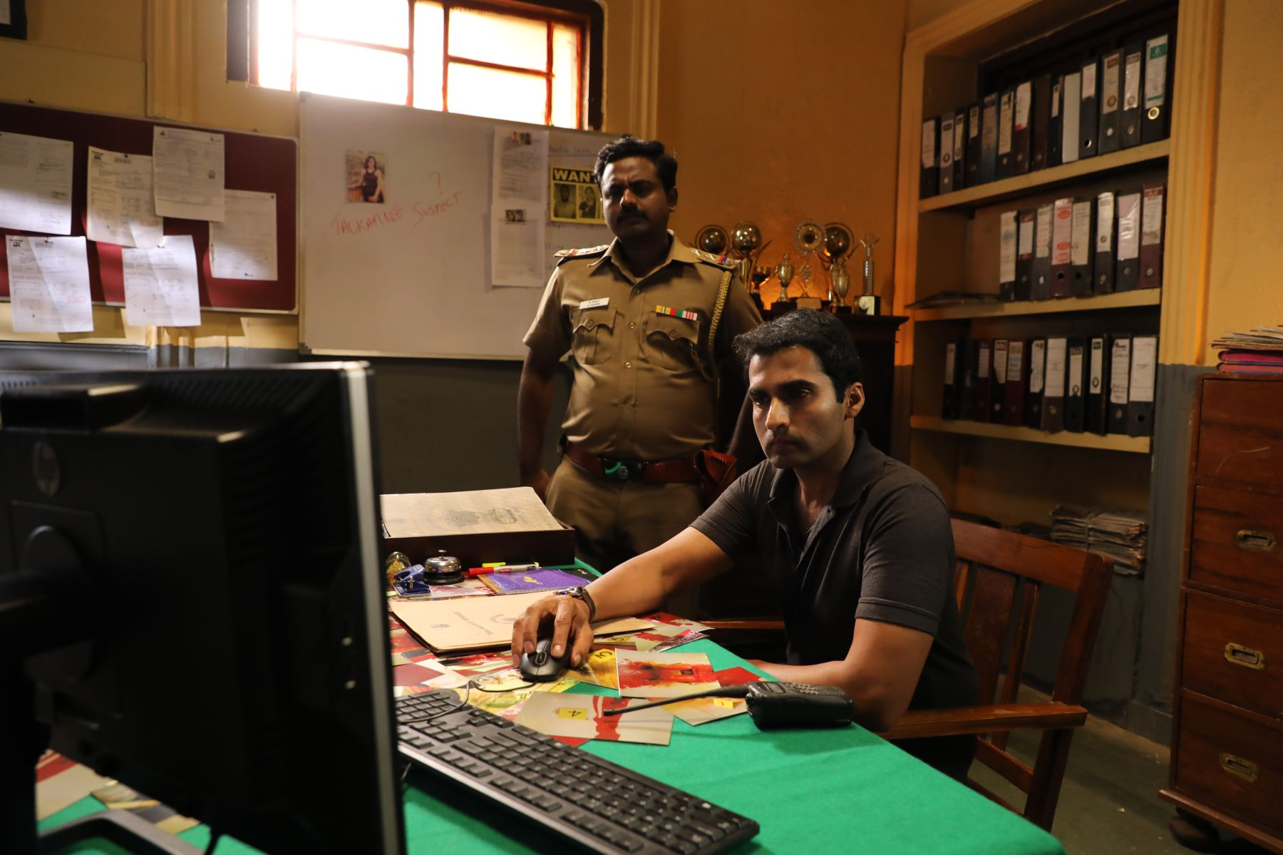 Sony LIV in Iru Dhuruvam Web Series Stills