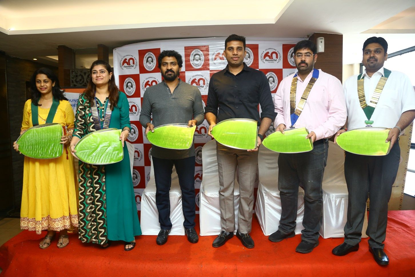 Actor Vaibhav Reddy Launches Dindigul Thalapakatti Clean Plate Challenge Fund Raiser support for Cancer patients Stills