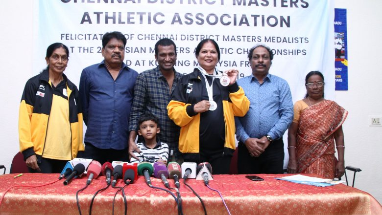 21st Asian Masters Athletic Championship 2019 Winners Meet