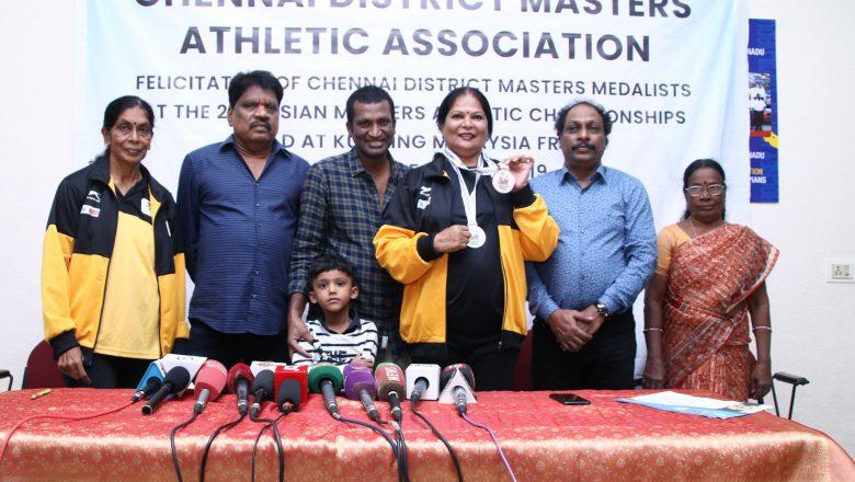 21stAsian Masters Athletic Championship 2019 Winners Meet