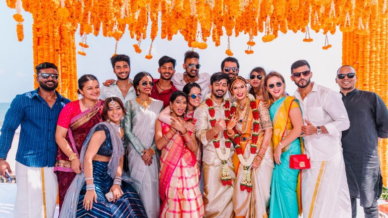 Actor Mahat Raghavendra – Prachi Mishra Wedding Stills
