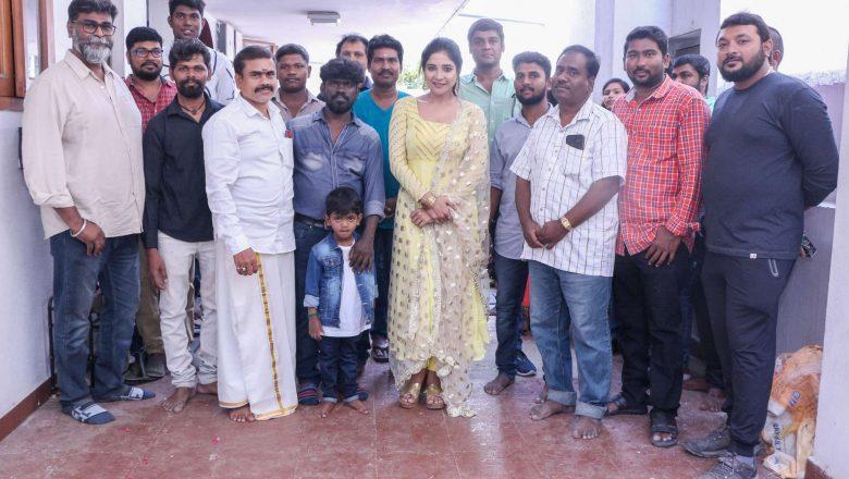 """Puravi"" Movie Pooja Launch stills"
