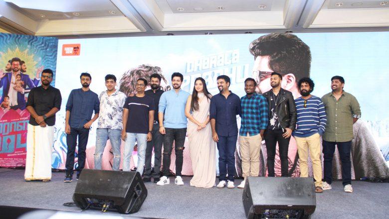 Dharala Prabhu movie press meet event stills