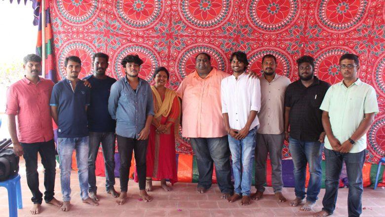 Libra Productions & First Man Film Works New Project Pooja stills