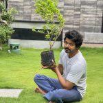 தெலுங்கு சூப்பர் ஸ்டார் மகேஷ் பாபு விடுத்த #Green India Challenge செய்து முடித்த தளபதி விஜய்.