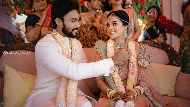 ACTOR ARAV AND ACTRESS RAAHEI WEDDING STILLS