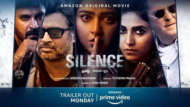 Amazon Prime Video unveils the trailer of R Madhavan and Anushka Shetty's much awaited Telugu suspense thriller.