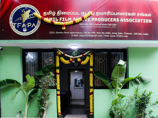 Tamil Film Active Producers Association New Office opened in Stills.