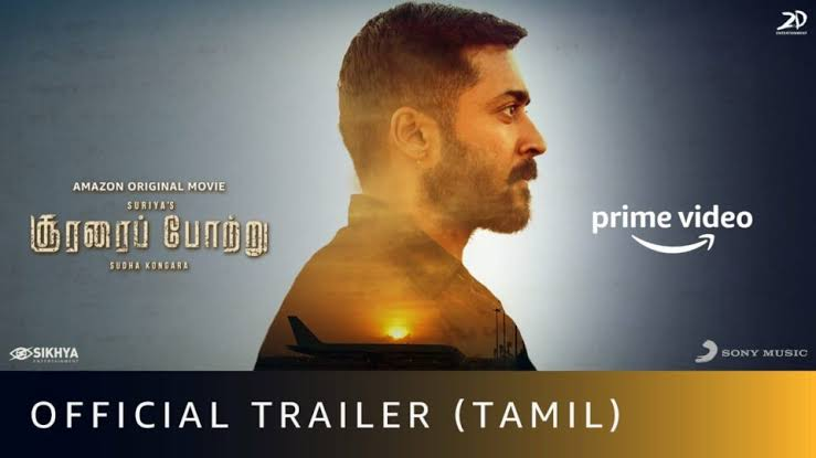 SooraraiPottru – Official Trailer | Suriya | Aparna | Sudha Kongara | G.V. Prakashkumar | Amazon Original Movie