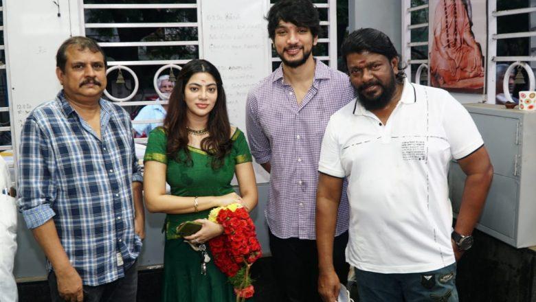 """Kaviya entertainment """"Production NO:2"""" Parthiban Radhakrishnan-Gautham Karthik starrer launched."""