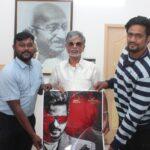 இயக்குநர் எஸ். ஏ .சந்திரசேகரன் '2323 ' திரைப்படத்தின் டீஸரை வெளியிட்டார்.
