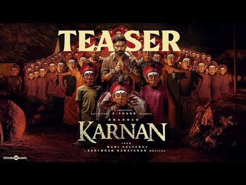 Karnan Official Teaser | Dhanush | Mari Selvaraj | Santhosh Narayanan | | v creations