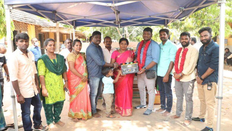 Santhi Soundarajan Movie Pooja Stills