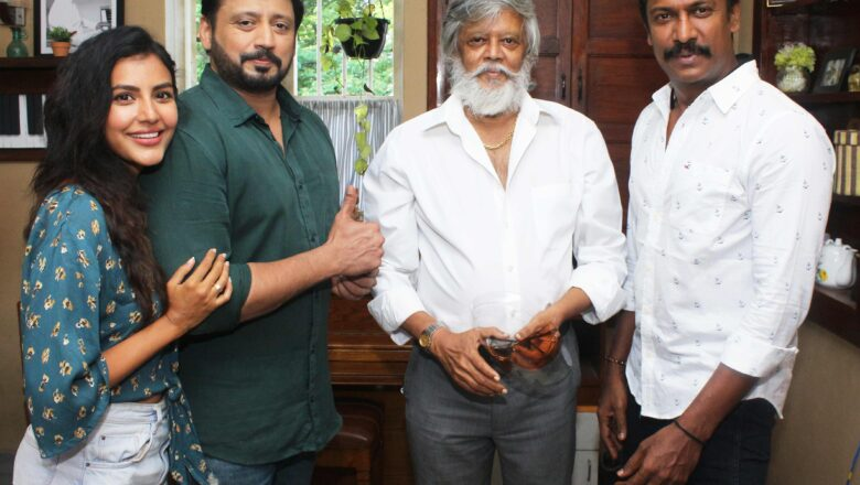 Actor Director Samuthrakani birthday celebration Stills