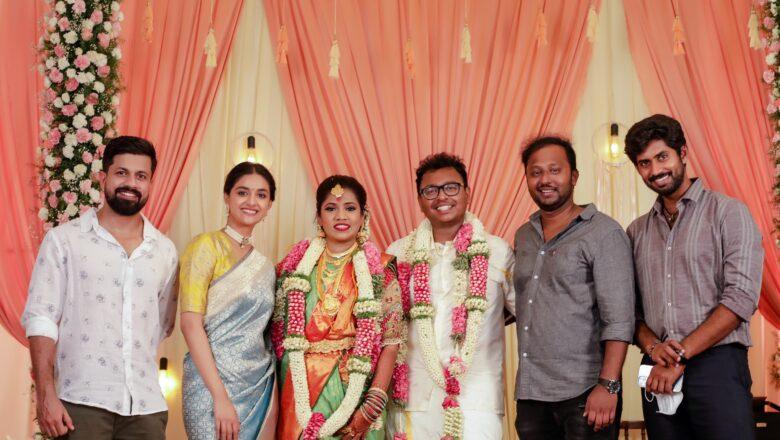 Cinematographer G.K.Vishnu – P.Mahalakshmi Wedding Stills