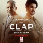 """Lahari Music acquires audio rights of Aadhi starrer """"Clap""""."""