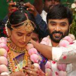Lyrics Writer Snekan & Actress Kannika Ravi Marriage Stills