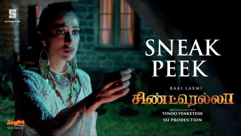 Cindrella SneakPeek   Raai Laxmi   Directed by Vinoo Venketesh @Infinix India