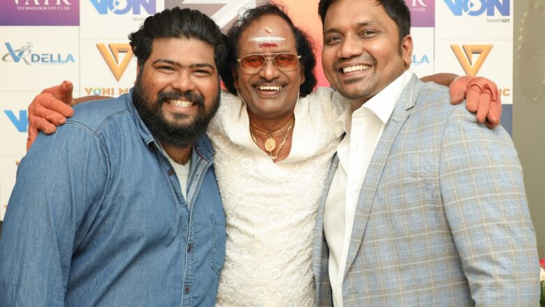 Producer of Sundar C-19 ventures into music production, launch first song sung by Sadhana Sargam.
