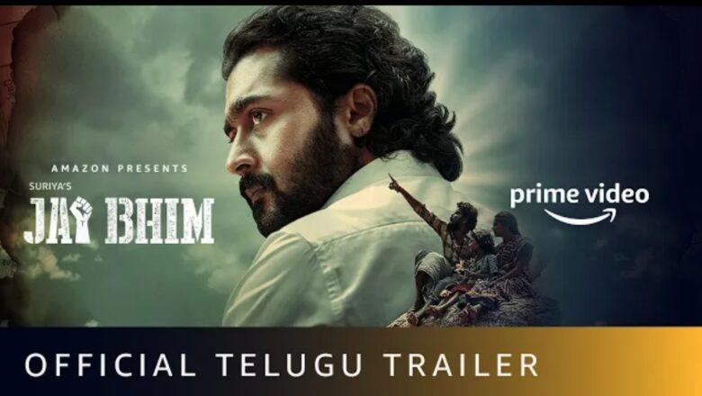 Jai Bhim – Official Telugu Trailer | Suriya | Amazon Prime Video