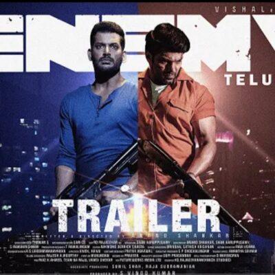 Enemy (Tamil) – Official Trailer   Vishal   Arya   Anand Shankar   Vinod Kumar   Thaman S   Sam